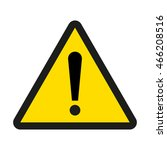 attention sign | Shutterstock .eps vector #466208516
