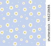Daisy Cute Seamless Pattern....
