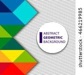 vector illustration of color... | Shutterstock .eps vector #466219985