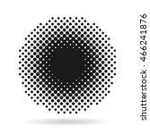 pop art round elements | Shutterstock .eps vector #466241876