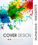 business card easy all editable   Shutterstock .eps vector #466260575