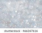 silver christmas background... | Shutterstock . vector #466267616