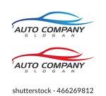auto car logo template | Shutterstock .eps vector #466269812