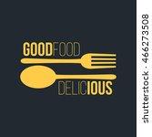 restaurant logo and badge... | Shutterstock .eps vector #466273508