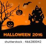 halloween | Shutterstock . vector #466280042