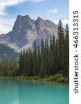 emerald lake | Shutterstock . vector #466313315