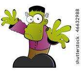 Vintage Frankenstein Cartoon