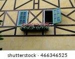 window on the wall | Shutterstock . vector #466346525