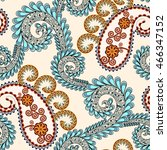 seamless pattern with beige... | Shutterstock .eps vector #466347152