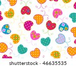 vector sweet butterflies design | Shutterstock .eps vector #46635535