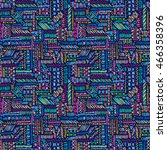 Ethnic Seamless Pattern. Boho...