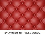 3d render of the red quilted... | Shutterstock . vector #466360502