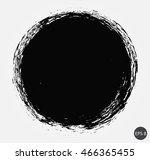 grunge circle.round shape... | Shutterstock .eps vector #466365455