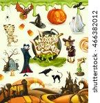 Halloween 3d Vector Icons. Set...