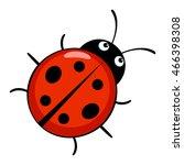 cute ladybug | Shutterstock .eps vector #466398308