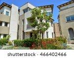 new modern homes in an... | Shutterstock . vector #466402466