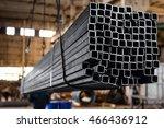 square steel tubes | Shutterstock . vector #466436912