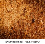 rusty metal texture can be used ... | Shutterstock . vector #46649890