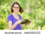 portrait of young smiling... | Shutterstock . vector #466500152