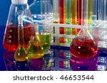 close up of syringe with sample ... | Shutterstock . vector #46653544