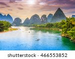 beautiful natural landscapes of ... | Shutterstock . vector #466553852
