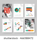 business brochure design... | Shutterstock .eps vector #466588472