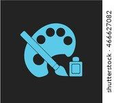 artist icon   Shutterstock .eps vector #466627082