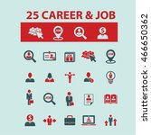 career job icons | Shutterstock .eps vector #466650362