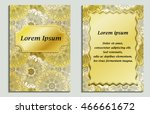 congratulatory card and... | Shutterstock .eps vector #466661672