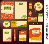 element of design template... | Shutterstock .eps vector #466662476