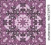 geometric seamless pattern of... | Shutterstock . vector #466715975