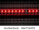 lift control display with led... | Shutterstock . vector #466716452
