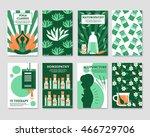 alternative medicine cards set...