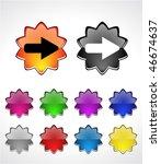web buttons | Shutterstock .eps vector #46674637