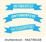 oktoberfest celebration | Shutterstock .eps vector #466748168