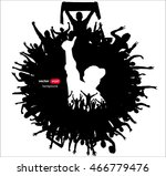 banner for music concerts and... | Shutterstock .eps vector #466779476