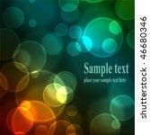 abstract background. vector...   Shutterstock .eps vector #46680346