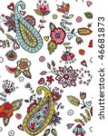 Pretty Paisley Seamless Pattern