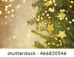 christmas decorations and gift... | Shutterstock . vector #466820546