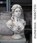 Garden Statue Bust