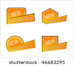 price tags | Shutterstock .eps vector #46683295