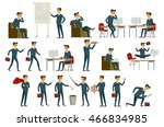 cartoon illustration of a... | Shutterstock .eps vector #466834985