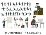 cartoon illustration of a... | Shutterstock .eps vector #466851848