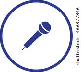 microphone icon  vector...