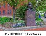 Statue Of George Washington Is...