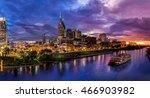 nashville skyline | Shutterstock . vector #466903982