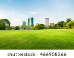 beautiful park scene in public... | Shutterstock . vector #466908266