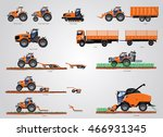 the set of agricultural... | Shutterstock .eps vector #466931345
