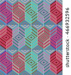 vector seamless pattern.... | Shutterstock .eps vector #466932596