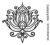 vector  abstract  oriental... | Shutterstock .eps vector #466939892
